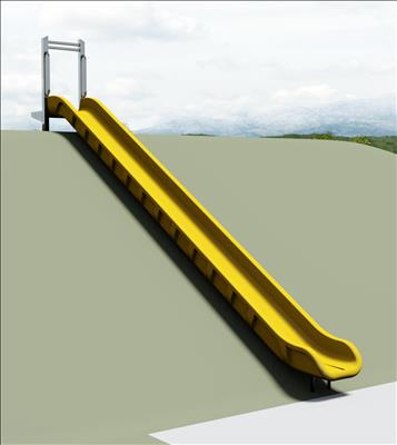 1650-101-EMB Embankment Slide Chute