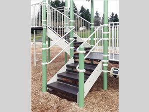 1696-32-81 Stairs with Handrails