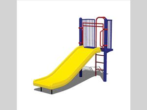 Wide Chute, Vertical Safety Climber 1953-4-21-PL